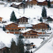 Chalets in the Snow — Stock Photo #2234093