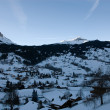 Grindelwald at Dawn - Stock Photo