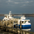 Stock Photo: Berthed at Wharf
