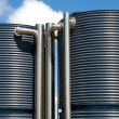 Stock Photo: Water Tanks