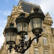 Parisian Street Lights — Stock Photo