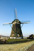 Dutch Windmill — Stock Photo