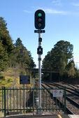 Railway Signal — Stock Photo