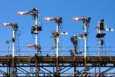 Railway Signals — Stock Photo