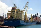 Cargo Ships — Stock Photo