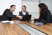 Office Discussion — Foto de Stock