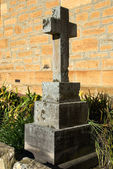 A Tombstone in the churchyard of All Saints Anglican Church, Sutton Forest, New South Wales, Australia — Stock Photo