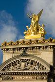 Paris Opera House Sculpture — Stock Photo