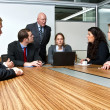 Royalty-Free Stock Photo: Office Meeting