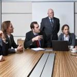 TEAM MEETING — Stock Photo