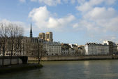 The River Seine — Foto Stock