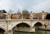 Tiber River, Rome, Italy — Stock Photo