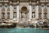 The Trevi Fountain - Rome — Stock Photo