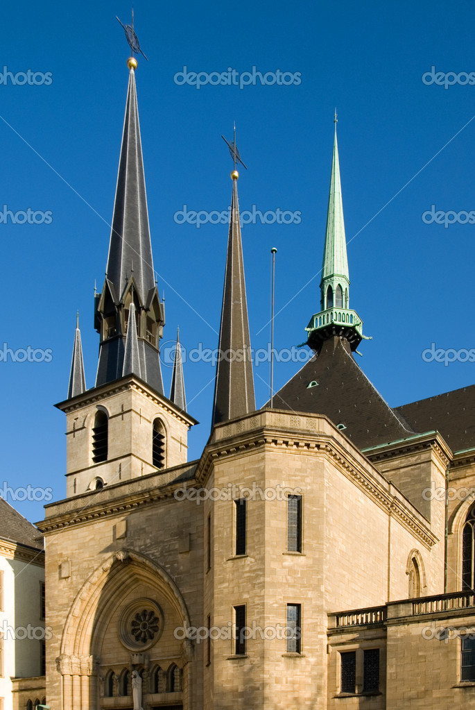St Michael's Church, Luxembourg — Foto de Stock   #2241901