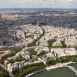 A View of Paris — Stock Photo