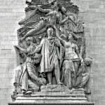 Sculpture - Arc de Triomphe, Paris — Stock Photo #2629077