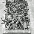 Sculpture - Arc de Triomphe, Paris — Stock Photo