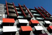 Apartment Building Exterior — Stock Photo