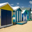 Beach Huts — Stock Photo #2640078