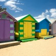 Beach Huts — Stock Photo #2640143