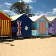 Beach Huts - Foto Stock