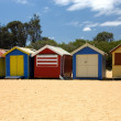 Beach Huts — Stock Photo #2640309