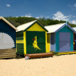 Beach Huts — Stock Photo #2640346