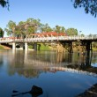 Bridge Over the Murray River — Stock Photo