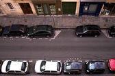 Parked Cars — Foto de Stock
