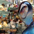 murano sculpture in crystal shop — Stock Photo #2224507