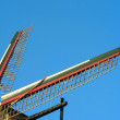 Two wings of a dutch windmill — Stock Photo