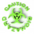 Biohazard Sign — Stock Photo #2342739