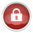 Stock Photo: Lock On Icon
