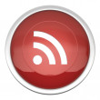 Stock Photo: RSS Feed icon