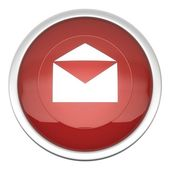 Mail on Icon — Stock Photo