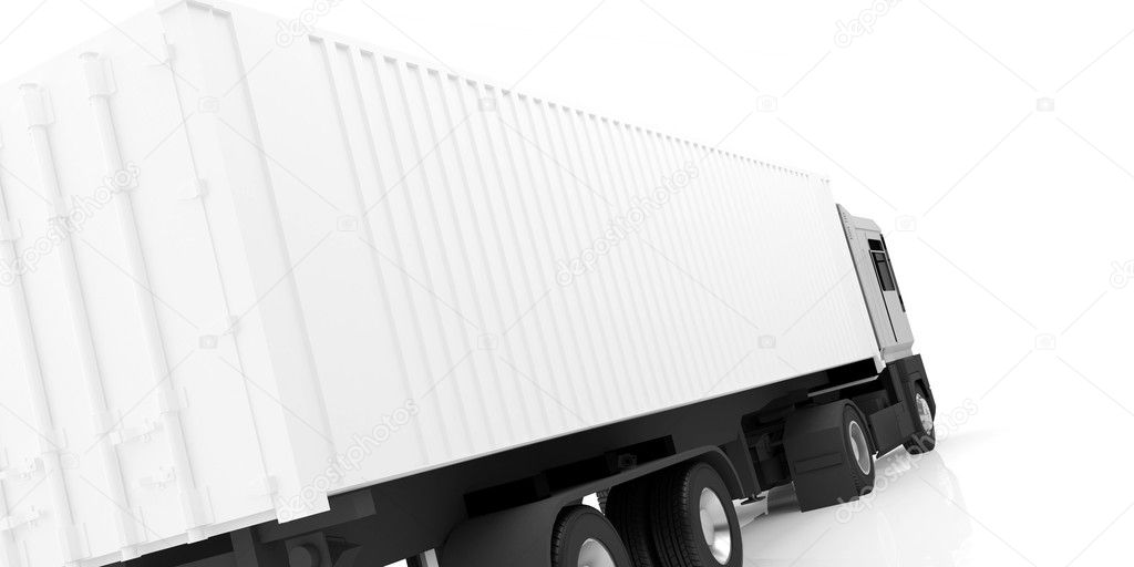 A white truck — Stock Photo #2343518