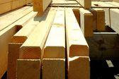 Construction wood — Stock Photo