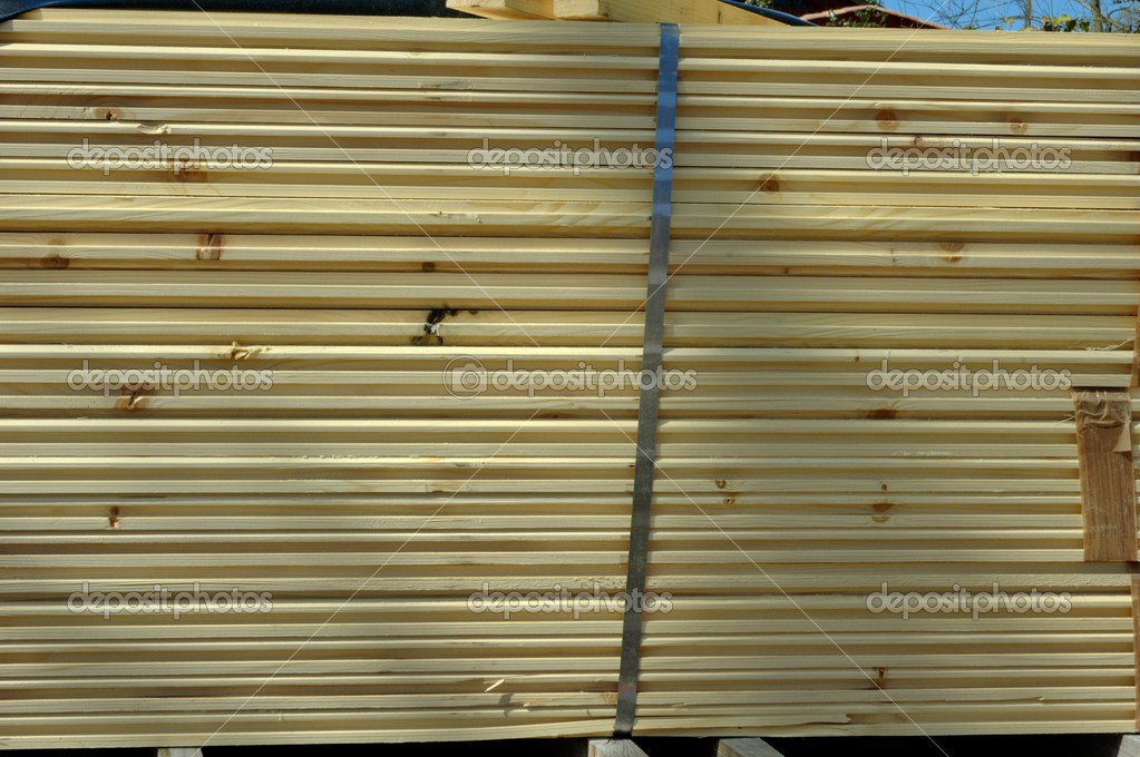 Some board of siding on a site  Stock Photo #2523204