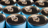 Ring Pull Cans — Stock Photo