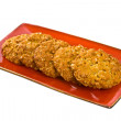 Anzac Cookies - Stock Photo