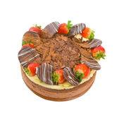 Chocolate Celebration Cake — Stock Photo