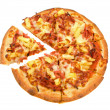 Hawaiian Pizza - Stock Photo