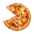 Stock Photo: Hawaiian Pizza