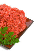 Lean Minced Steak — Stock Photo