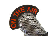 On The Air Microphone — Stock Photo