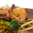 Stir Fry Noodles — Stock Photo