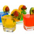Four Colorful Mixed Drinks — Stock Photo #2290388