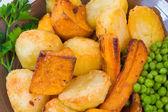 Roast Vegetables — Stock Photo