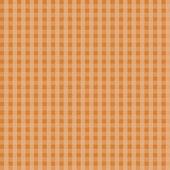 Orange Gingham Seamless Background — Stock Photo