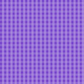 Purple Gingham Seamless Background — Stock Photo